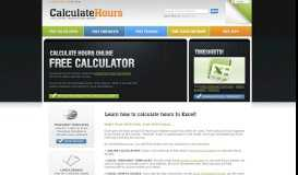 Free Online Time Card Calculator, Calculate Hours Worked