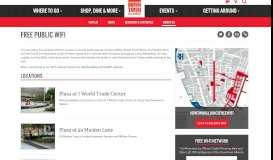 Free Public WiFi   Downtown Alliance