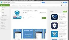 Free VPN Proxy - ZPN - Apps on Google Play