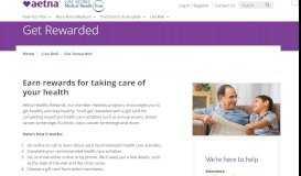 Get Rewarded | UAW Trust Aetna Medicare