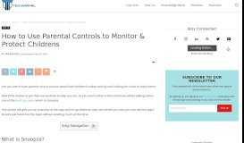 How to Use Parental Controls to Monitor & Protect Childrens