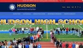 Hudson City School District