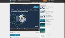 IBM PartnerWorld - SlideShare