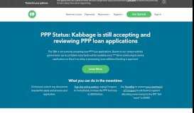 Kabbage: Small Business Funding Options Up To $250000