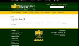 KENTUCKY STATE UNIVERSITY BOARD OF REGENTS