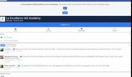 La Excellence IAS Academy - Home | Facebook