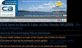 Lake Homes for Sale at Lake of the Ozarks