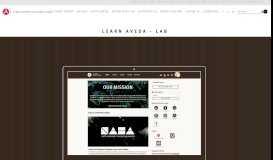 Learn Aveda LAB information/login — Aveda Institutes Canada