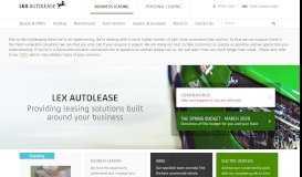 Lex Autolease: Business Car Leasing