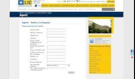 Life Insurance Corporation of India - Agent - LIC