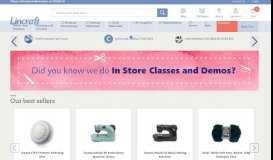 Lincraft | Fabric & Craft Online | Buy Yarn, Sewing Machines