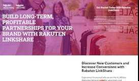 LinkShare | Rakuten Marketing