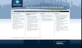 LINX - Pierce County Legal Information Network eXchange