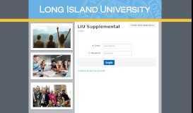 LIU Supplemental Login