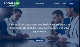 Locumlink – Awarded Ireland's Best Healthcare Agency