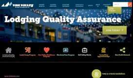 Lodging Quality Assurance (LQA) - Vail Valley Partnership