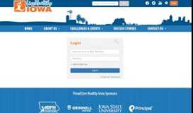 Log In - Live Healthy Iowa
