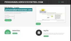 Login: personnelservicecenter.com Michelin