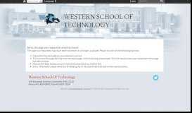Login - Western School Of Technology - Baltimore County Public ...
