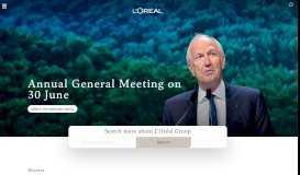 L'Oréal - L'Oréal Group | World Leader in Beauty | Official ...