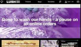 Lush Fresh Handmade Cosmetics UK
