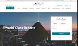 Luxor Resort & Casino - Luxor Hotel & Casino