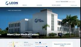Miami - LEON Medical Centers