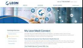 My Leon Medi Connect - LEON Medical Centers