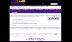 MyChart - Lallie Kemp Medical Center - LSU Hospitals