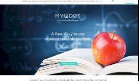 myQdos - Your School's Next Rewards Platform