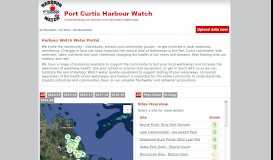 MyWater HarbourWatch :: Community Portal