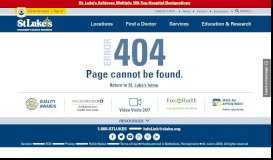 New Patient Portal Gives Patients Access to St. Luke's with ... - St. Luke's