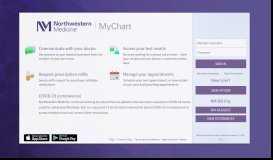 NM MyChart - Login Page