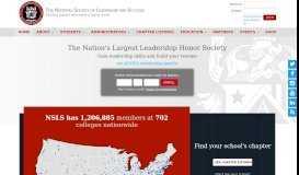 NSLS   National Society of Leadership & Success   Reviews ...