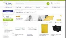 Office supplies – Lyreco UK