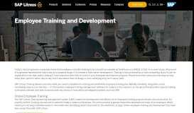 Online Employee Training Software and LMS | SAP Litmos