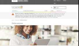 Online services - La Capitale Assurance