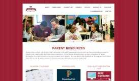 Parent Resources - Legal Prep Charter Academy