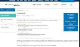 Patient Portal - LifeBridge Health