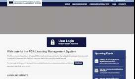 Pennsylvania Department of Aging Learning Management ...