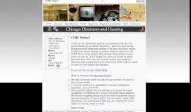 Portal - Chicago Dizziness and Hearing