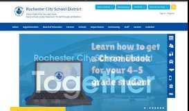 PowerSchool Log-in - Rochester City School District