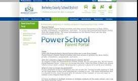 PowerSchool Parent Portal / Home
