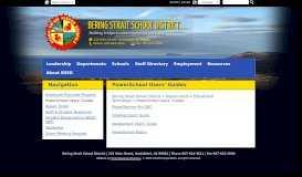 PowerSchool Users' Guides - Bering Strait School District