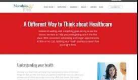 Preventative Health Care Services for Members | Marathon Health