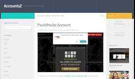 Punishtube Account – AccountsZ