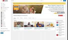 Reliance Nippon Life Insurance - YouTube
