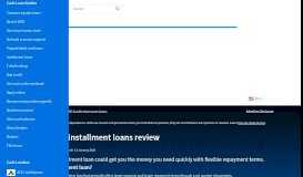 RISE Credit installment loans review January 2020 | finder.com