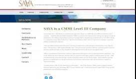 SAVA Workforce Solutions, LLC » SAVA is a CMMI Level III Company