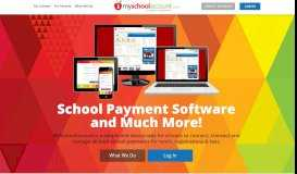 School payment software for lunch accounts & fee payment